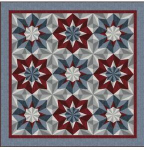 "Stars of Glory  by Heidi Pridemore Quilt Kit   71"" x 71"" - 15 7/8 YDS"