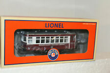 Lionel 6-58238 O Scale Trolley Bergen County Traction Company NIB!