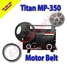 TITAN MP-350 Dual 8mm Motor principal cine Proyector Belt (cinturón)