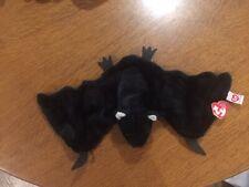 Beanie Baby, Radar, cuddly black bat.
