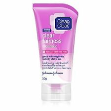 Clean and Clear Fairness Cleanse Oil-free Gentle Whitening Beads Foam 50g.