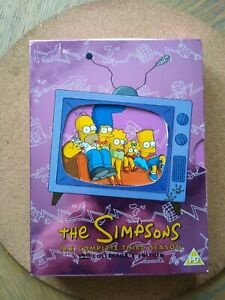 The Simpsons: Complete Season 3 [DVD] - c/w cover