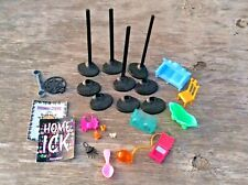 Monster High Doll Accessories, Doll Stands & Furniture - Lot Of 26 Pieces
