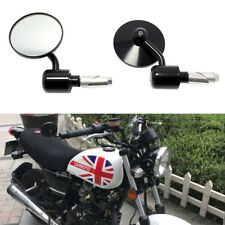 """Universal Motorcycle CNC Aluminum 7/8"""" Handle Bar End Side Rearview Mirrors MT"""
