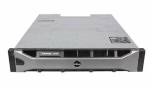 "Dell EqualLogic PS4100X 12x 600GB 10k 2.5"" SAS HDD + 2x Ctrl iSCSI Storage Array"