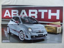 Fiat Abarth 500 esseesse - Poster Prospekt Brochure 07.2009