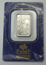 PAMP Suisse Statue of Liberty 5 Gram .9995 Fine Palladium Bar in Assay Card