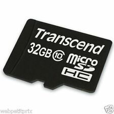 Transcend Extreme Speed Secure Digital micro SDHC, 32 Go, Class 10/ 30 Mbs