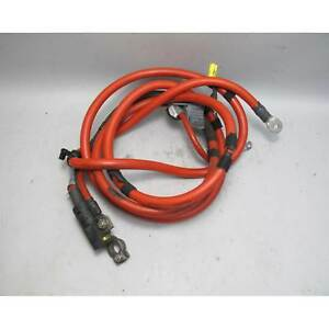 2001-2006 BMW E46 M3 Convertible Factory Red Positive Battery Cable w Terminal