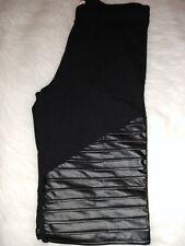 Bozzolo Fashion Leggings - Black Moto - Size Small