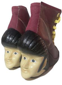 Irregular Choice Elvis Greaser Heels Boots U.S 8.5/euro 39