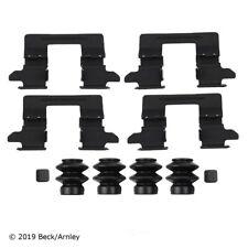 Disc Brake Hardware Kit-Luxe Rear Beck/Arnley 084-2201