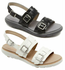 Buckle Wide (C, D, W) Flats for Women
