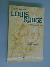 JOSEPH BOUTIN- LOUIS ROUGE/ LE BRACONNIER D ANJOU- ED CERCLE D OR- 1979