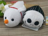 Disney TSUM TSUM Jack Skellington Zero The Nightmare Before Xmas Plush Toy 2PCS