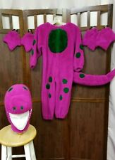 Child purple dinosaur Barney Halloween costume/ gift size 6