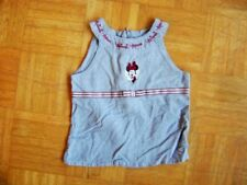 @ H&M @Mignon ROBE TUNIQUE BLEU CLAIR Minnie Mouse gr. 110/116 Age 5 - 6