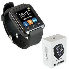 Bluetooth Reloj inteligente De Pulsera teléfono inteligente con pantalla táctil Android iPhone iOS móviles
