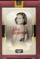 JULIE NEWMAR CATWOMAN AUTOGRAPH AUTO CARD #d87/200 BATMAN 2008 CELEBRITY CUTS