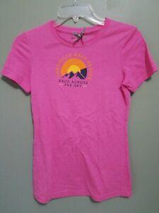 Leadville Race Series Race Across The Sky Small Womens Pink Shirt