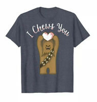 STAR WARS Chewbacca Graphic Men's XL T Shirt, New With Tags, Heather Blue
