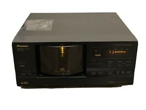 Pioneer PD-F958 CD Changer Compact Disc Player 101 CD TESTED WORKS Free SHIPPING