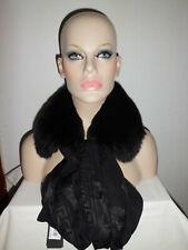 Versace Woman Scialle Seta Inserto Pelliccia Volpe Silk Scarf Medusa
