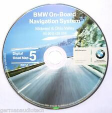 BMW NAVIGATION CD DIGITAL ROAD MAP DISC 5 2007.2 MIDWEST OHIO VALLEY 65900426556