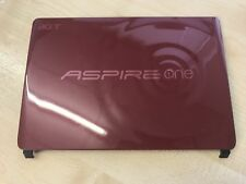 Acer Aspire One D257 ZE6 Top Lid LCD Rear Cover RED 3KZE6LCTNQ0