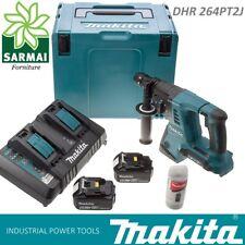 MAKITA DHR264PT2J tassellatore SDS-PLUS LXT 36V + 2 batterie 5,0 Ah + mandrino