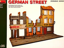 Miniart 1:35 German Street Diorama Model Kit