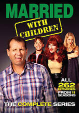 New! Married with Children: The Complete Series (DVD, 2015, 21-Disc Set) SEALED