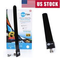 Slim HD Antena HDTV 1080p Digital Clear Free TV Signal Indoor Antenna Key US