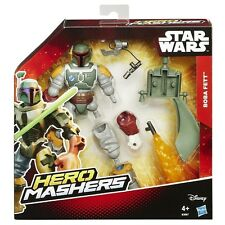 Boba Fett ( Star Wars ) Htf ( 2015 ) Hero Mashers Action Figure Disney / Hasbro
