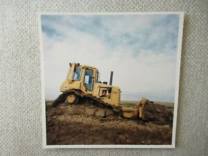 "CAT Caterpillar D4H crawler TRACK-TYPE  tractor stock PHOTO 8x8"""