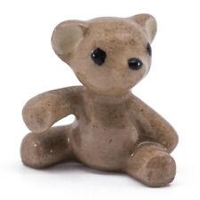 "Hagen Renaker Miniature Ceramic Big Brother Teddy Bear Figurine 3/4"" High"