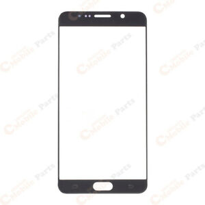 Samsung Galaxy Note 5 Front Glass Screen Lens - Black Sapphire