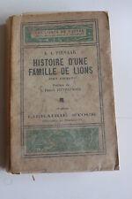 histoire d'une famille de lions - A. PIENAAR -  livres de nature éditions STOCK