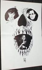 Stampa n.3 di Dylan Dog 21 x 30 cm.