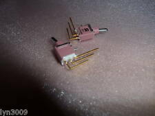 2 IP67 Sealed Subminiature toggle switches SPDT 90° (303)