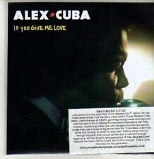 (CS972) Alex Cuba, If You Give Me Love - 2010 DJ CD