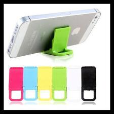 5PCS Plegable Mini Teléfono Móvil Soporte De Sobremesa Universal 2 Ángulos Nuevo