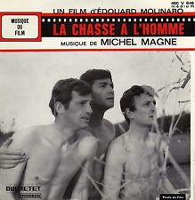 MICHEL MAGNE LA CHASSE A L'HOMME FRENCH ORIG OST EP 45 PS 7""