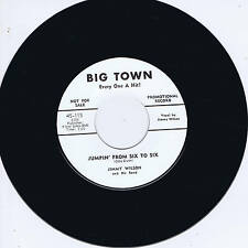 JIMMY WILSON - JUMPIN' FROM SIX TO SIX / OH ! RED  (Hot Rhythm & Blues JIVERS)