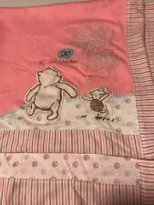 CLASSIC BABY Winnie The POOH Piglet Pink MY FIRST Adventure Security BLANKET EUC