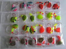 24 Spinner Rigs Leech Minnow Crawler Harness Walleye, Bass, Pike Colorado Blades