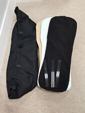 Bugaboo donkey black v2 carrycot with mattress & wooden board. Fits Donkey2 & 3