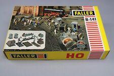 Z286 Faller B-141 maquette train Ho accessoire gare bobine butoir traverse 141