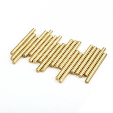 20pcs Brass Round Shaft Rods Axles 3mm X 30mm for RC Toy Car