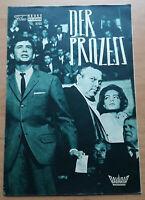 """NFP-Filmprogramm: ROMY SCHNEIDER im Film """"DER PROZESS"""" mit Anthony Perkins #192"""